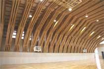 三加和小学校体育館